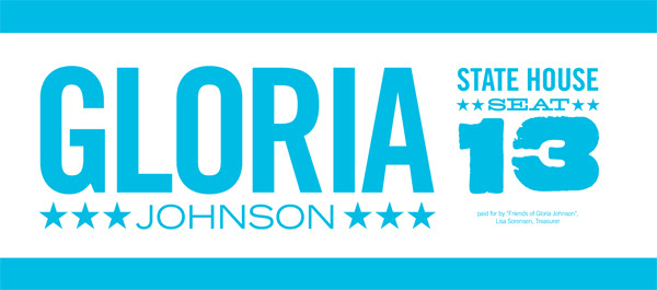 Vote Gloria Johnson