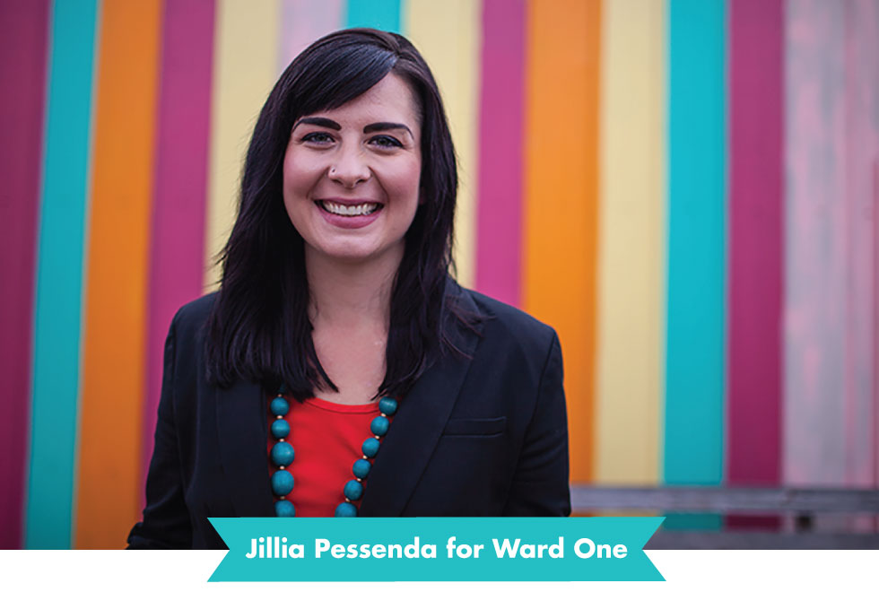 Jillia for Ward One