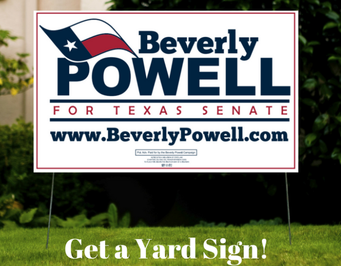 Beverly Powell for Texas Senate