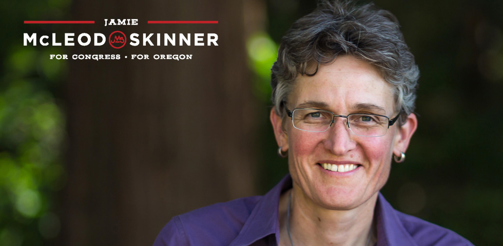 Jamie McLeod-Skinner for Oregon