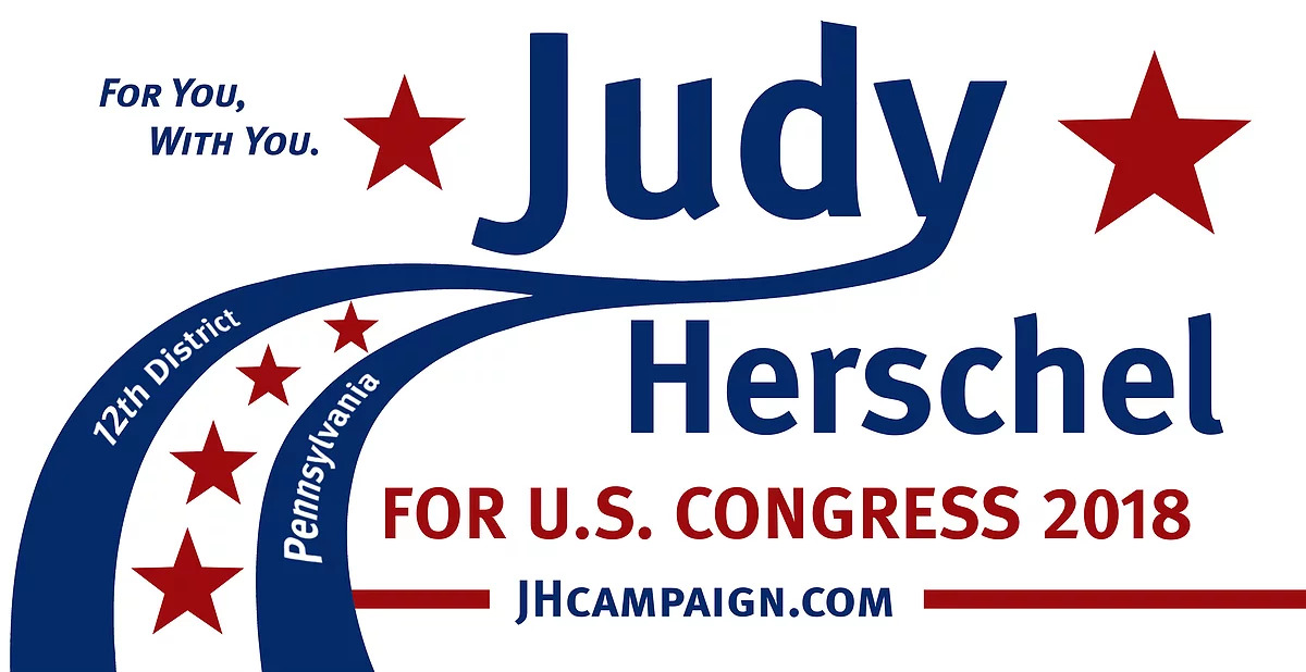 Official Website of Supporters of Judy Herschel, Pennsylvannia's 10th Congressional District