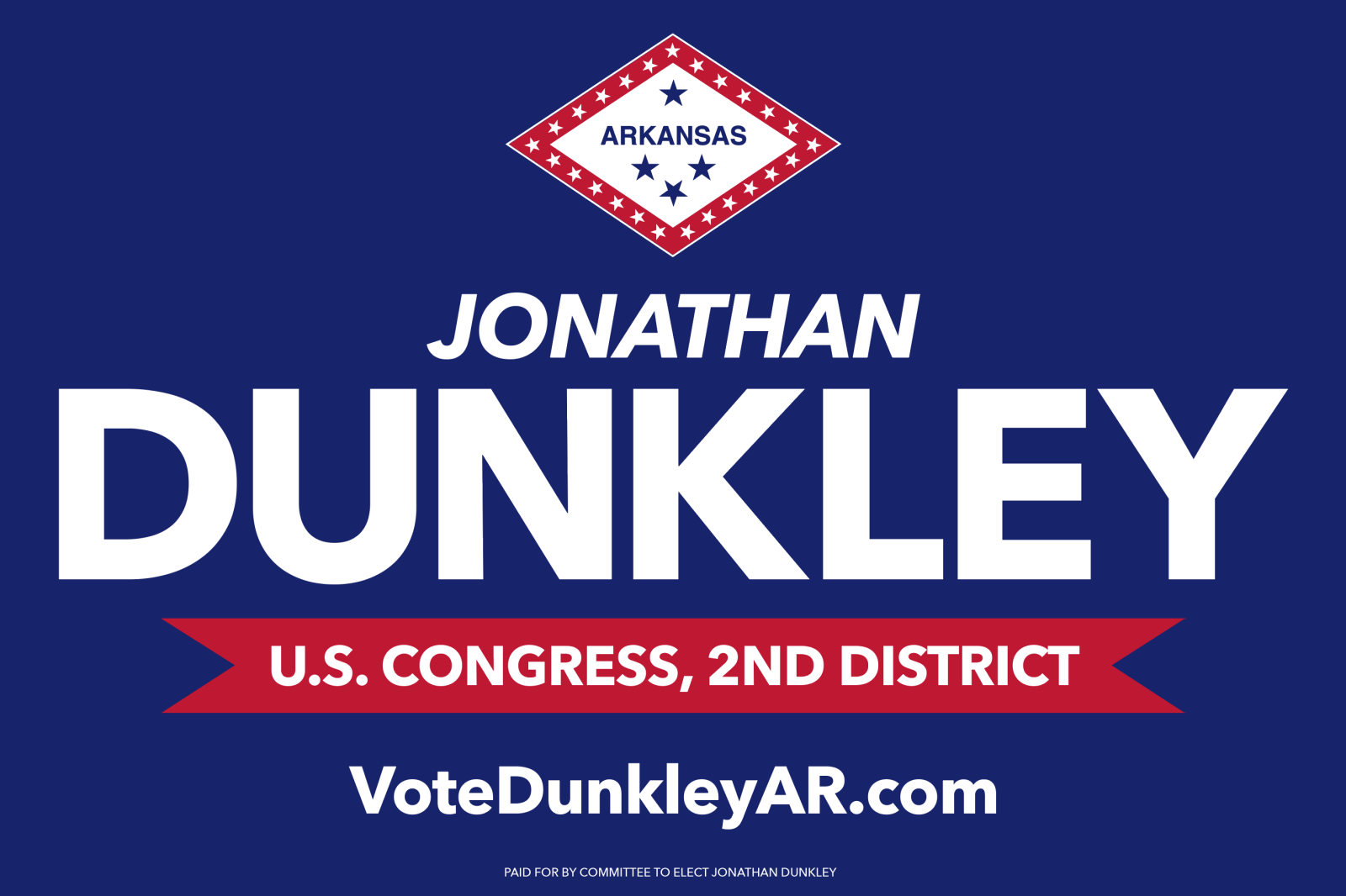 Jonathan Dunkley for Congress
