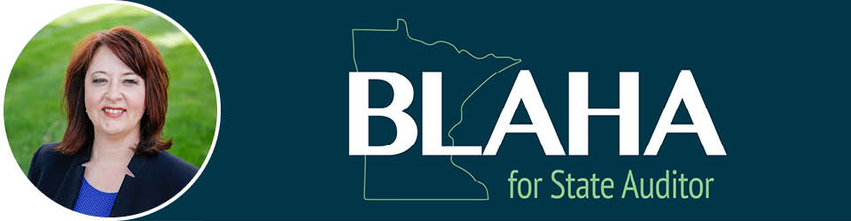Blaha for Auditor