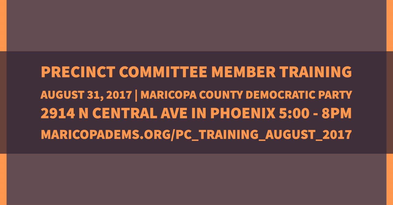 The Maricopa County Democratic Party