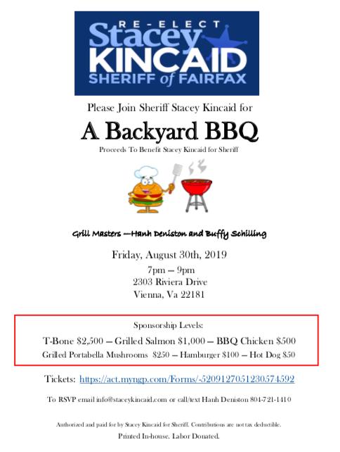 Stacy Kincaid's Backyard BBQ