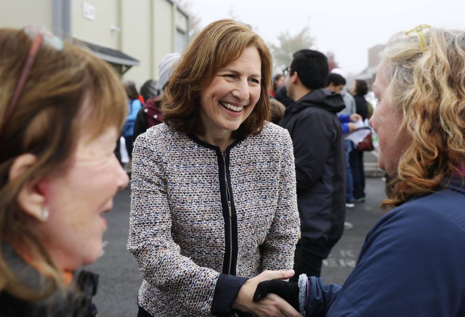 SIGN THE CARD: Congratulations, Congresswoman Kim Schrier