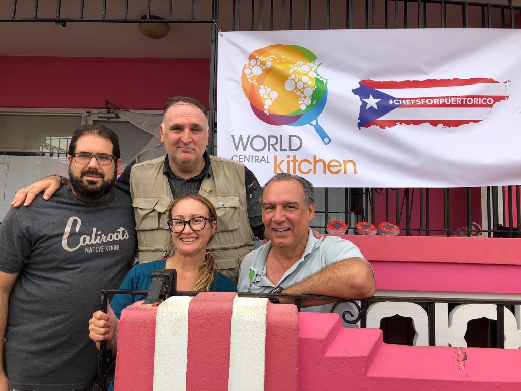 support world central kitchen and chefs for puerto rico - World Central Kitchen