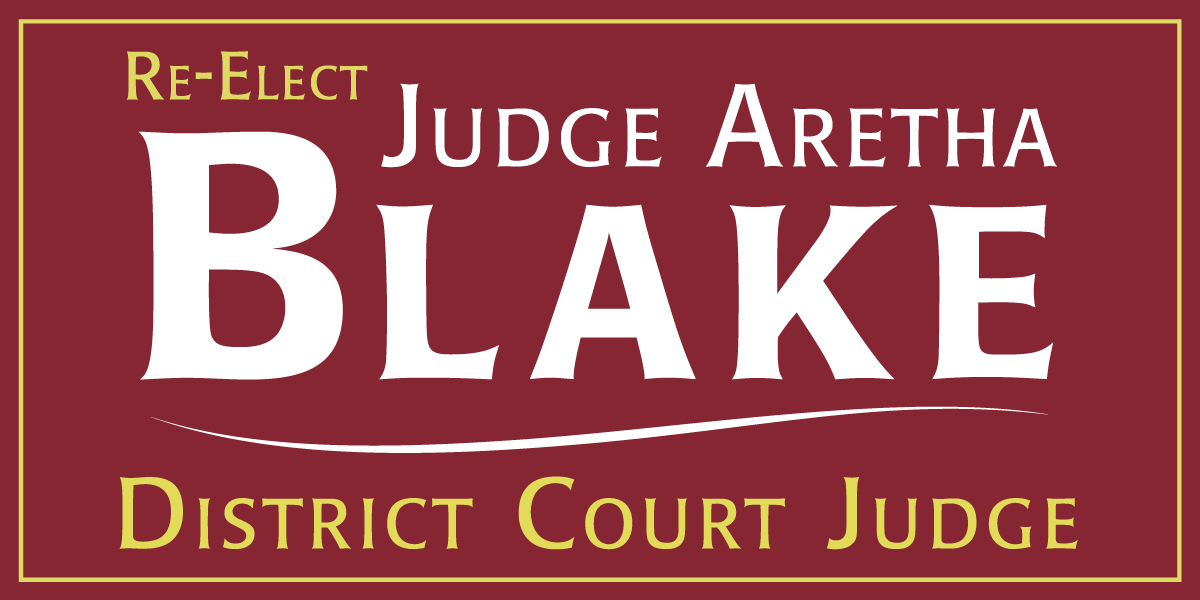 Vote Judge Blake
